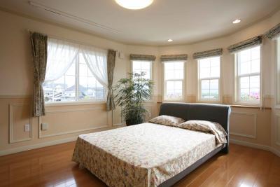 パノラマの主寝室。朝のお目覚めも良さそうです。