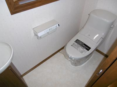 2Fトイレ。左側に...。